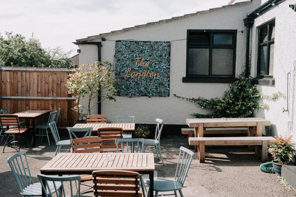 WEB - Beer garden downstairs with sign DSCF0017